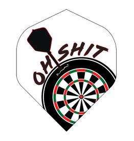 British Darts METRONIC FLIGHTS OH SHIT