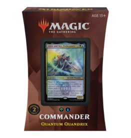Wizards of the Coast MTG STRIXHAVEN COMMANDER: QUANTUM QUANDRIX (STREET DATE APRIL 23)