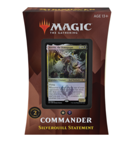 Wizards of the Coast MTG STRIXHAVEN COMMANDER: SILVERQUILL STATEMENT (STREET DATE APRIL 23)