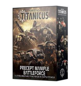Games Workshop A/TITANICUS: PRECEPT MANIPLE BATTLEFORCE (STREET DATE APR 17 2021)
