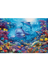 Cobble Hill 1000PC PUZZLE - DOLPHINS AT PLAY