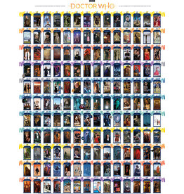 Cobble Hill 1000PC PUZZLE - DOCTOR WHO EPISODE GUIDE
