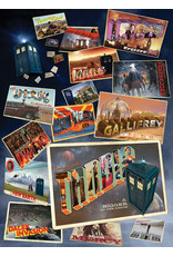 Cobble Hill 1000PC PUZZLE - DOCTOR WHO POSTCARDS