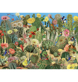 Cobble Hill 1000PC PUZZLE - CACTUS GARDEN
