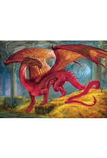Cobble Hill 1000PC PUZZLE - RED DRAGON'S TREASURE