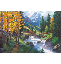 Cobble Hill 2000PC PUZZLE - ROCKY MOUNTAIN HIGH