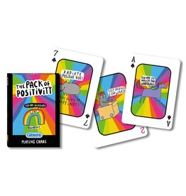 Gibsons PACK OF POSITIVITY PLAYING CARDS