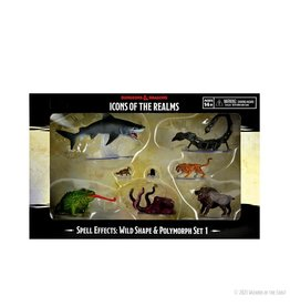 Wizkids D&D MINIS: ICONS OF THE REALMS: WILD SHAPE & POLYMORPH SET 1