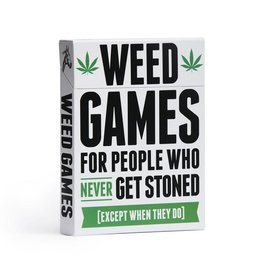 DSS Games WEED GAMES: FOR PEOPLE WHO NEVER GET STONED (EXCEPT WHEN THEY DO)