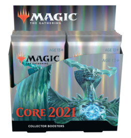 Wizards of the Coast MTG M21 CORE 2021 COLLECTOR BOOSTER BOX