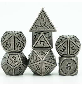 UdixiDice 7PC RPG DICE - METAL FRAME