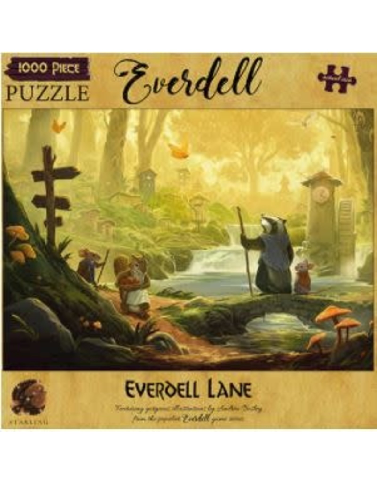 1000PC EVERDELL PUZZLE - EVERDELL LANE