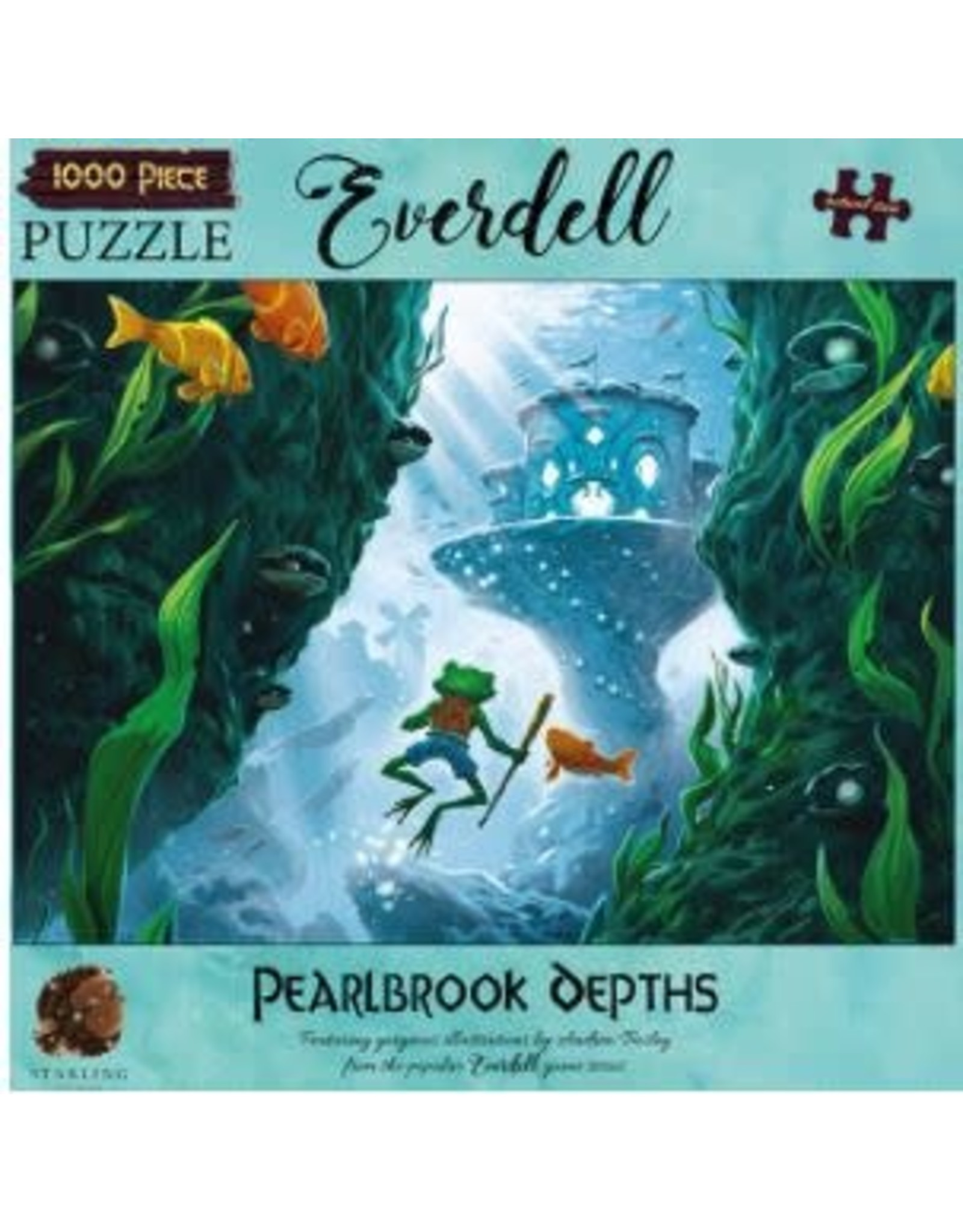 1000PC EVERDELL PUZZLE - PEARLBROOK DEPTHS