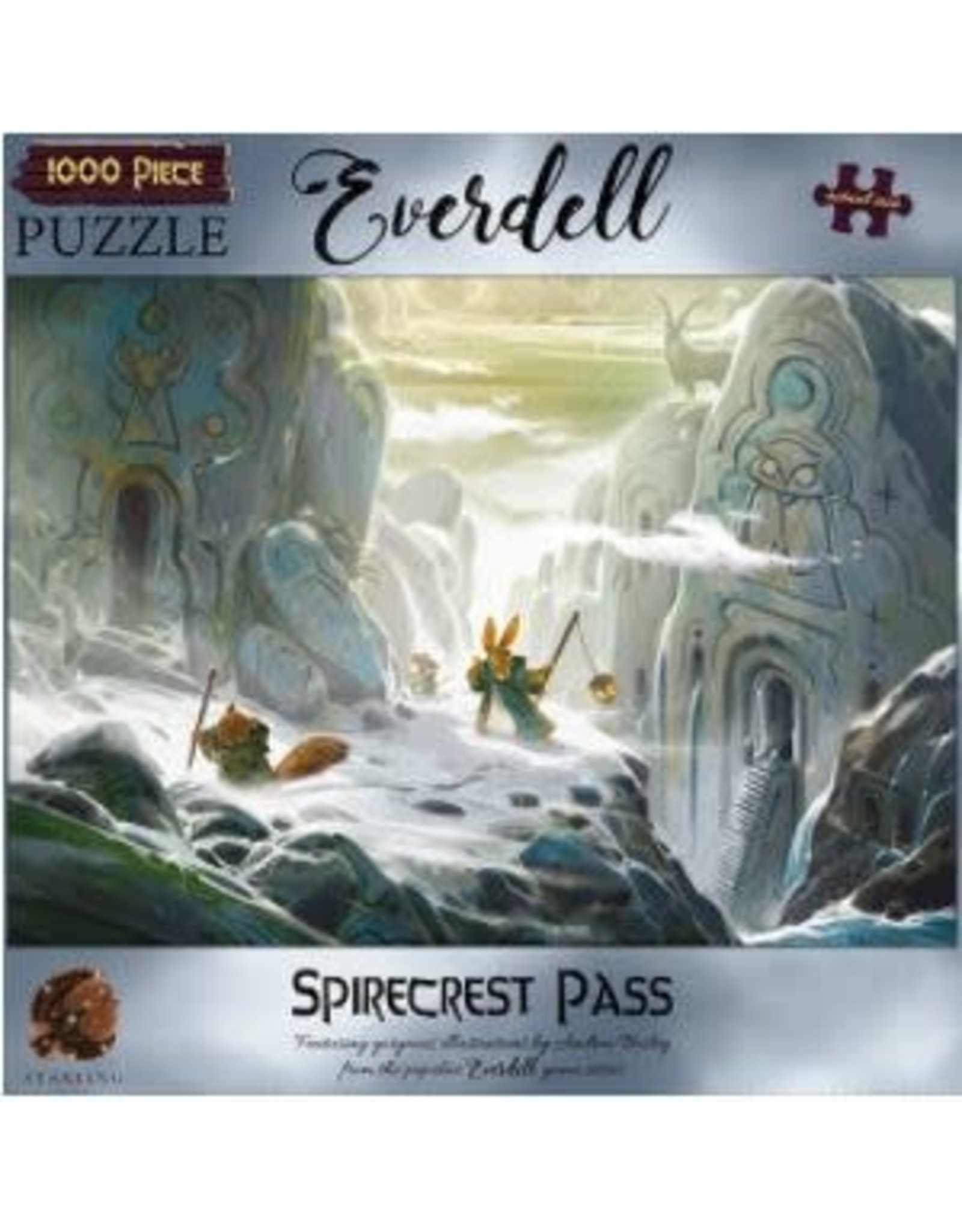 1000PC EVERDELL PUZZLE - SPIRECREST PASS