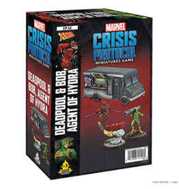 ATOMIC MASS GAMES MARVEL CRISIS PROTOCOL - DEADPOOL & BOB & TACO TRUCK