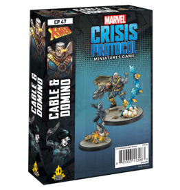 ATOMIC MASS GAMES MARVEL CRISIS PROTOCOL - DOMINO & CABLE