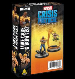 ATOMIC MASS GAMES MARVEL CRISIS PROTOCOL - LUKE CAGE & IRON FIST