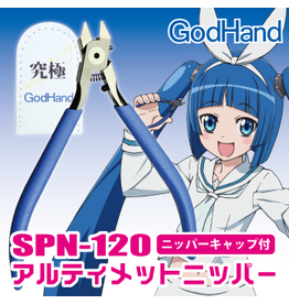 GodHand GODHAND - PRECISION NIPPERS SPN-120 (W/ PROTECTION CAP)