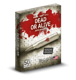 NORSKER GAMES 50 CLUES - SEASON 2 - DEAD OR ALIVE (1/3) (STREET DATE Q4 2021)