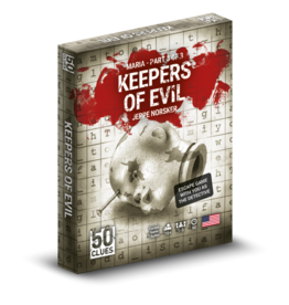 NORSKER GAMES 50 CLUES SEASON 2 MARIA: KEEPERS OF EVIL (3/3) (STREET DATE Q4 2021)