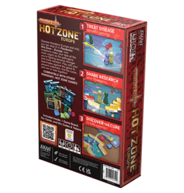 Z-MAN GAMES PANDEMIC HOT ZONE - EUROPE  (STREET DATE Q3 2021)