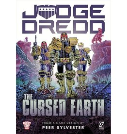 Osprey JUDGE DREDD: THE CURSED EARTH CARD GAME