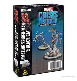 MARVEL CRISIS PROTOCOL: SPIDER-MAN AND BLACK CAT CHARACTER PACK