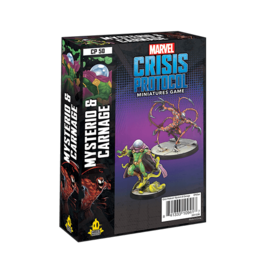 MARVEL CRISIS PROTOCOL: MYSTERIO AND CARNAGE CHARACTER PACK