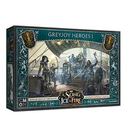 CMON A SONG OF ICE & FIRE: GREYJOY HEROES #1 (STREET DATE 2021)