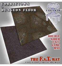 F.A.T. Mats FAT MATS: COBBLESTONE/DUNGEON FLOOR 3X3