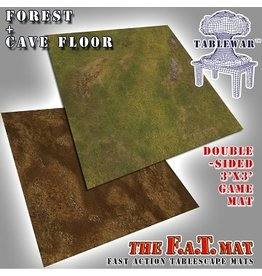 F.A.T. Mats FAT MAT FOREST / CAVE FLOOR 3X3