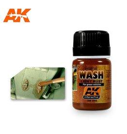 AK Interactive AK INTERACTIVE ENAMEL LIGHT RUST WASH