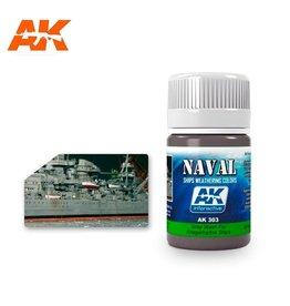 AK Interactive AK INTERACTIVE GREY WASH FOR KRIEGSMARINE SHIPS