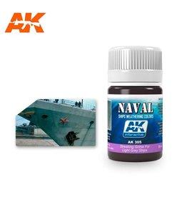 AK Interactive AK INTERACTIVE STREAKING GRIME FOR LIGHT GREY