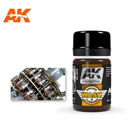 AK Interactive AK INTERACTIVE WASH FOR AIRCRAFT ENGINE