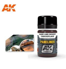 AK Interactive AK INTERACTIVE PANELINER FOR SAND & DESERT CAMOUFLAGE 35ML