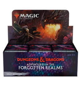 Wizards of the Coast MTG ADV FORGOTTEN REALMS DRAFT BOOSTER BOX