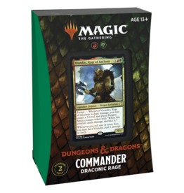 Wizards of the Coast MTG ADV FORGOTTEN REALMS COMMANDER DECK - DRACONIC RAGE
