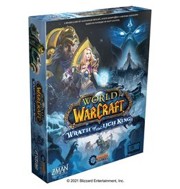 ZMAN WORLD OF WARCRAFT: WRATH OF THE LICH KING - A PANDEMIC SYSTEM GAME (STREET DATE TBD)