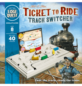 Mixlore TICKET TO RIDE: TRACK SWITCHER LOGIC PUZZLE (STREET DATE TBD)