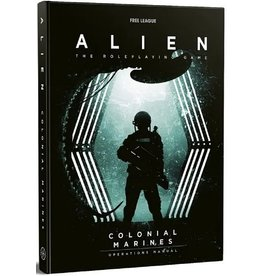 Free League ALIEN RPG THE COLONIAL MARINES OPERATIONS MANUAL (STREET DATE AUG 2021)