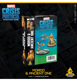 ATOMIC MASS GAMES MARVEL CRISIS PROTOCOL: MORDO & ANCIENT ONE CHARACTER PACK