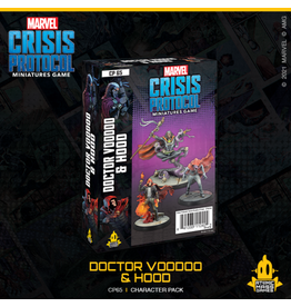 ATOMIC MASS GAMES MARVEL CRISIS PROTOCOL: DOCTOR VOODOO & HOOD CHARACTER PACK