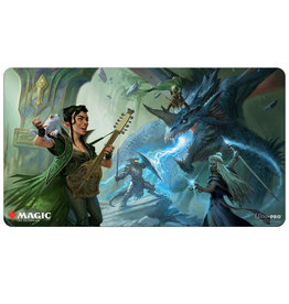 Ultra Pro PLAYMAT: MAGIC THE GATHERING - ADVENTURES IN FORGOTTEN REALMS - V1 THE PARTY FIGHTING BLUE DRAGON