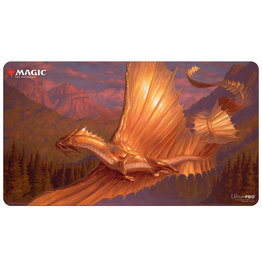 Ultra Pro PLAYMAT: MAGIC THE GATHERING - ADVENTURES IN FORGOTTEN REALMS - V2 ADULT GOLD DRAGON
