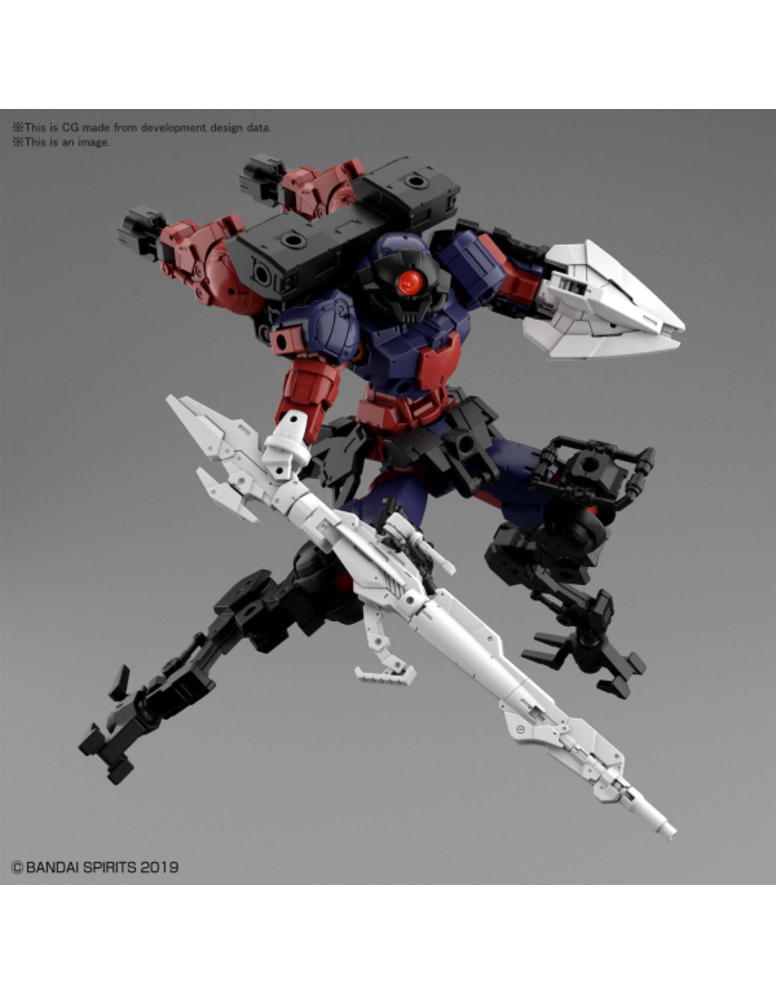 BANDAI 30MM 1/144 bEXM-15 PORTANOVA (SPACE TYPE) [DARK PURPLE]