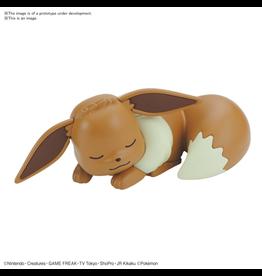BANDAI POKEMON MODEL KIT QUICK!! 07 EEVEE (SLEEPING POSE)