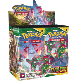 The Pokemon Company International POKEMON SWSH7 EVOLVING SKIES BOOSTER BOX