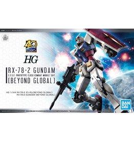 BANDAI HG 1/144 RX-78-2 GUNDAM [BEYOND GLOBAL]