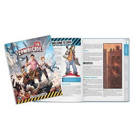 CMON ZOMBICIDE CHRONICLES RPG - CORE BOOK (STREET DATE 2021)